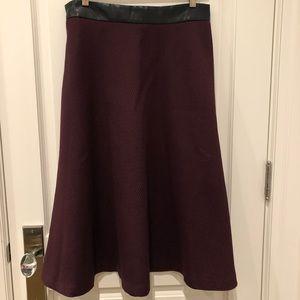 Banana Republic A-line Midi Skirt - Size 12